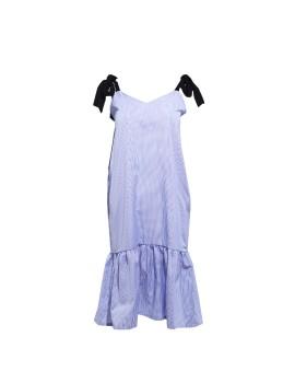 Edith Blue-Striped