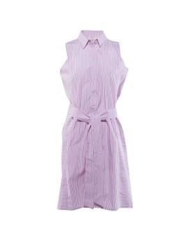 Clara Shirt Dress Pink