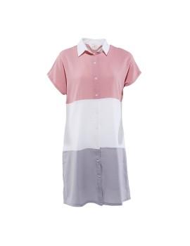 Louisa Shirt Dress Pink