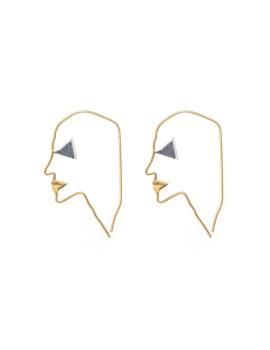 Pharaoh Earring Gold