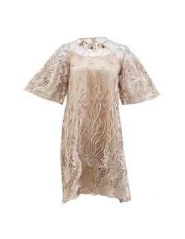 Mary dress Gold