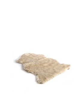 Faux Fur Rugs Creme