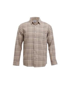 Hillbilly Plaid Shirt Brown