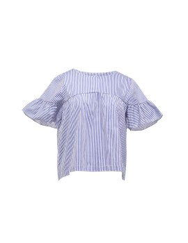 Flare Sleeves Blouse
