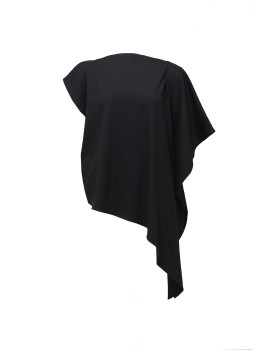 Symmetrical Blouse in Black