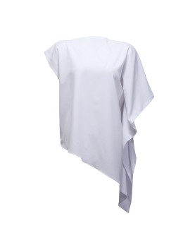 Symmetrical Blouse in Off White