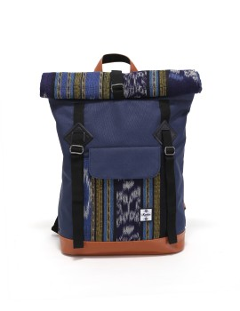 Fold Backpack Navy