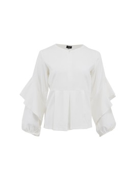 Raiya Blouse White