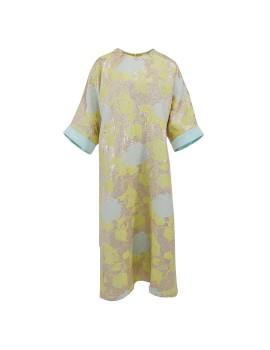 Floral Rolled Abaya