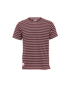 Maroon Striped Hampton