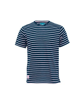 Navy Striped Hampton