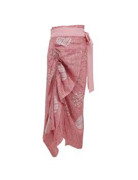 Mallow Skirt Batik Pink