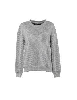 Oversized Women Sweatshirt in Slub