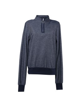 Pullover Terry with Zipper