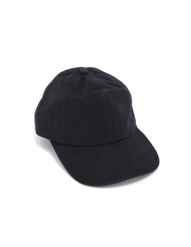 Black Plain Dad Cap