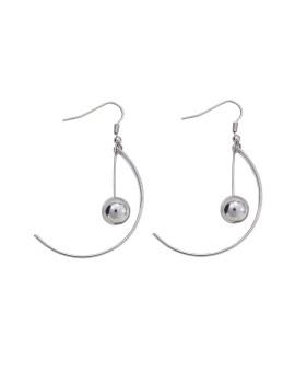 Qloppy Earring Silver