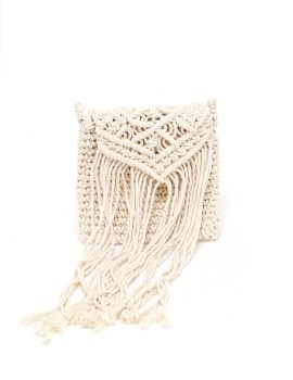 Macrame Bag Natural Beige