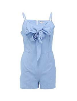 Jumpsuit with Bowtied Detail