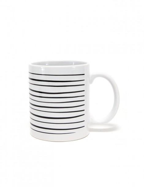 Black Strip Mug