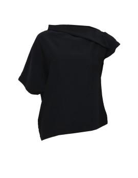 Symmetrical Collar Blouse