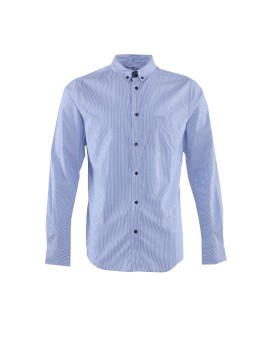 AD Mens Casual long Sleeve MS 995 - Blue
