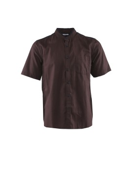 AD Mens Casual Short Sleeve Ms 1206 - Brown