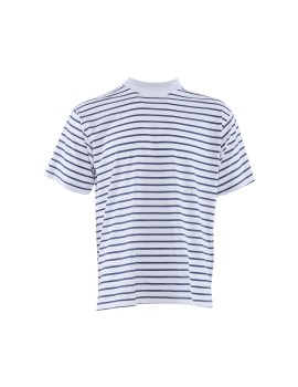 Basic Stripe Navy-White