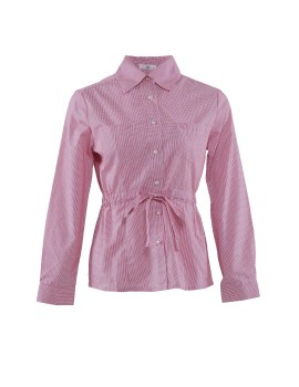 A&D Ladies Blouse Ms 840 - Red Check