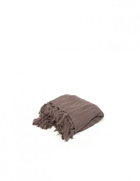 Knitted Blanket Pattern Burgundy