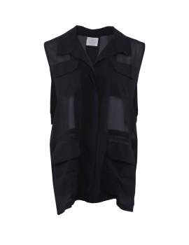 Figs Vest Black