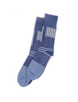 Sashiko Pattern Socks