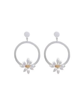 Sanguina earring Silver