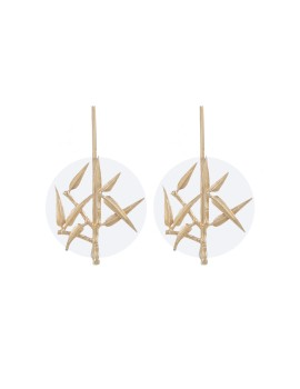 Poales earring Gold