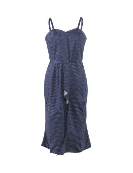 Minnie Dress Navy Blue