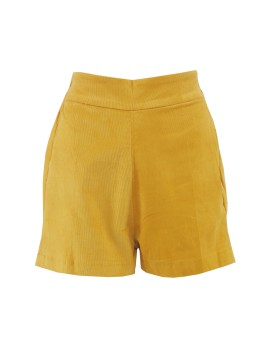 Uncommitted Shorts Mustard