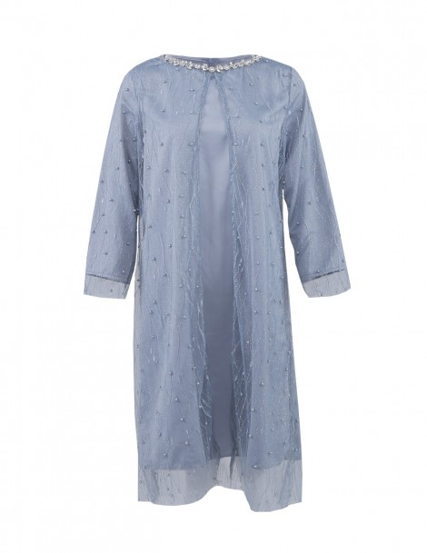 Bluebell Dress Grey