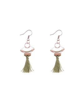 Ivy Earrings Olive