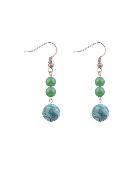Parishii Earrings 02 - Green Transparant