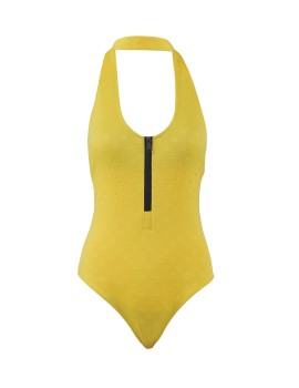 Bae Watch Swimsuits Yellow