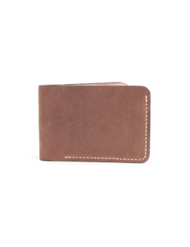 Short Wallet I Suede