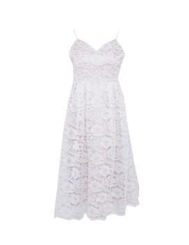 Kanta Dress White