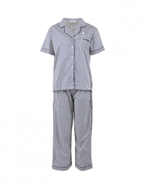 Pyjamas Basic Navy Stripes