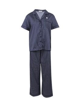 Pyjamas Basic Navy Dots
