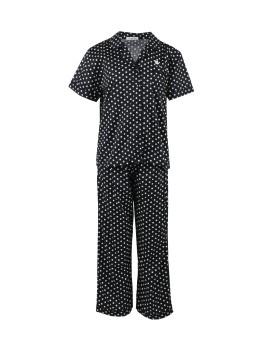 Pyjamas Basic Black Dots