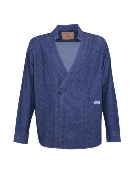 Denim Karategi Jacket Jacquard