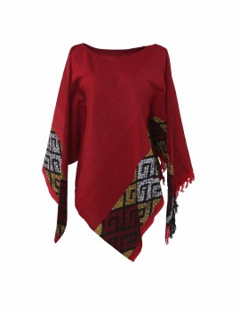 Triangel Tenun Top Red