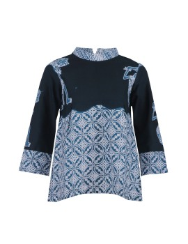 Canaka Batik Top in Teal