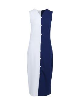Emily Dress Navy