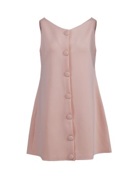 Abigail Dress Peach