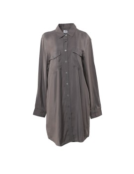 Button Up Shirtdress